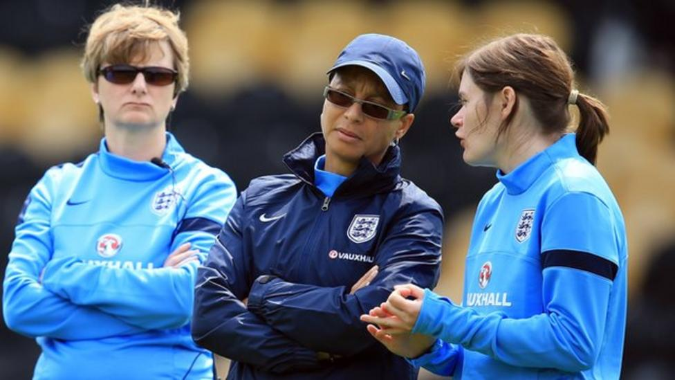 England women could beat men says Powell