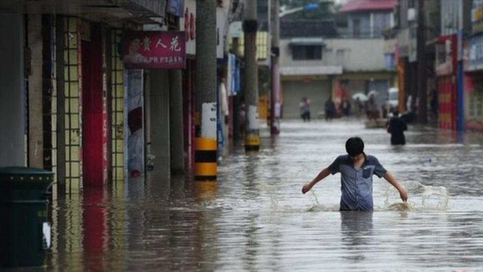 Floods hit south-west China