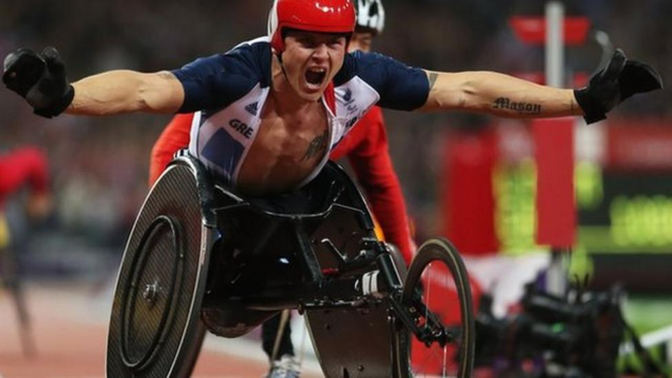 Martin sees how the 2012 Paralympics inspired the nation