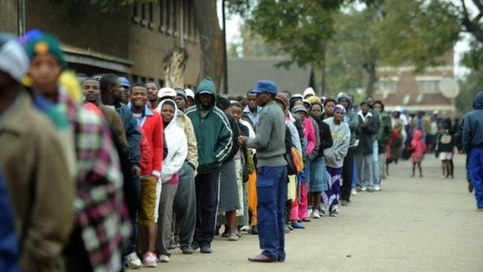 Zimbabwe election under way