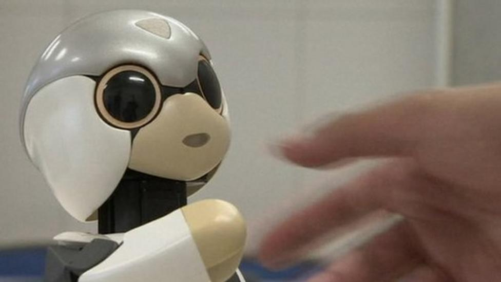 Video: Talking robot goes into to space