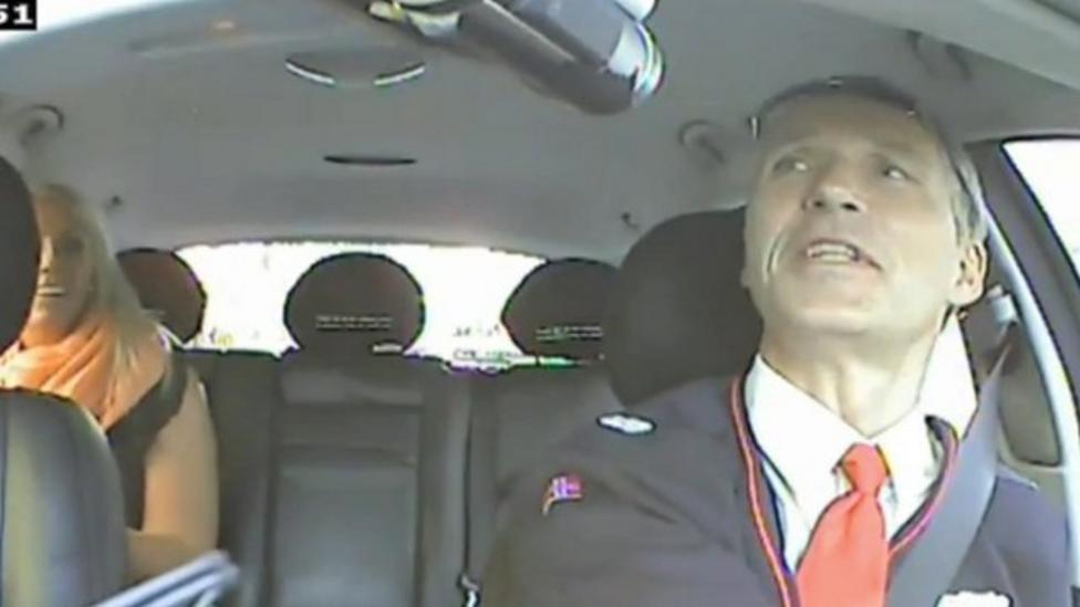 Norwegian PM moonlights as cabbie