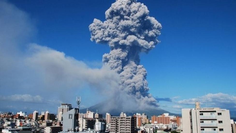 Japanese volcano's 500th eruption