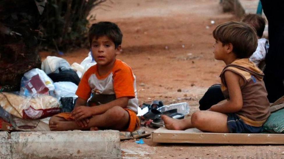 Two stories of Syrian refugee children