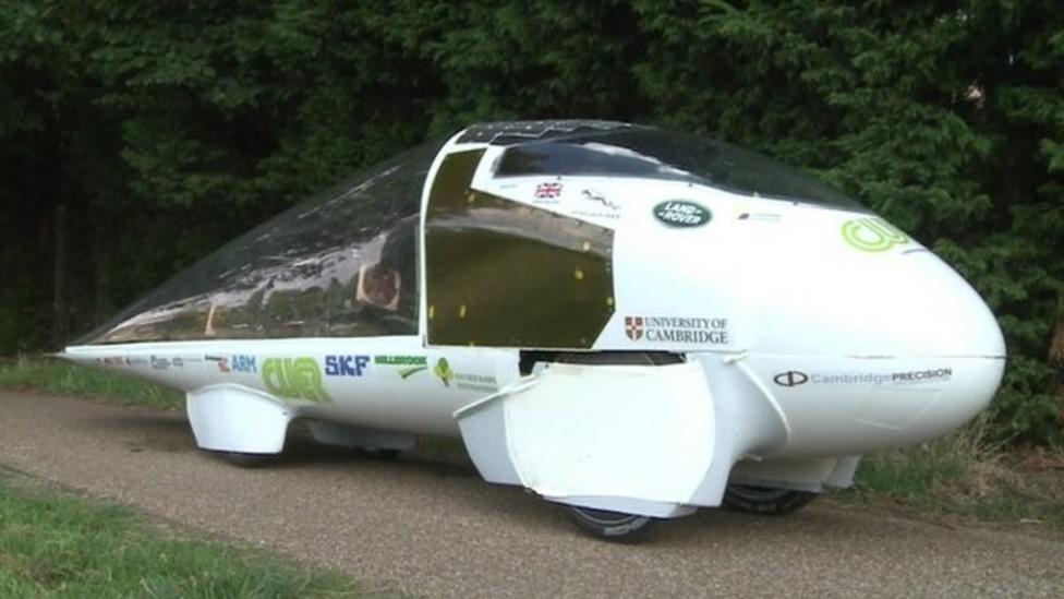 video: Meet the UK's solar car race entry