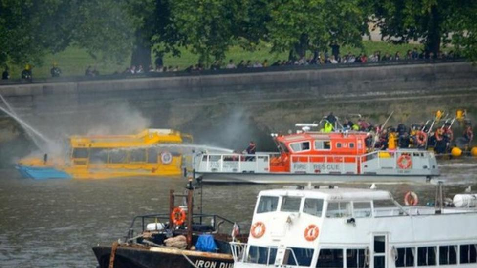 Thames Duck Tours put on hold