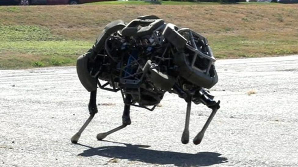 Amazing 'robot lion' revealed