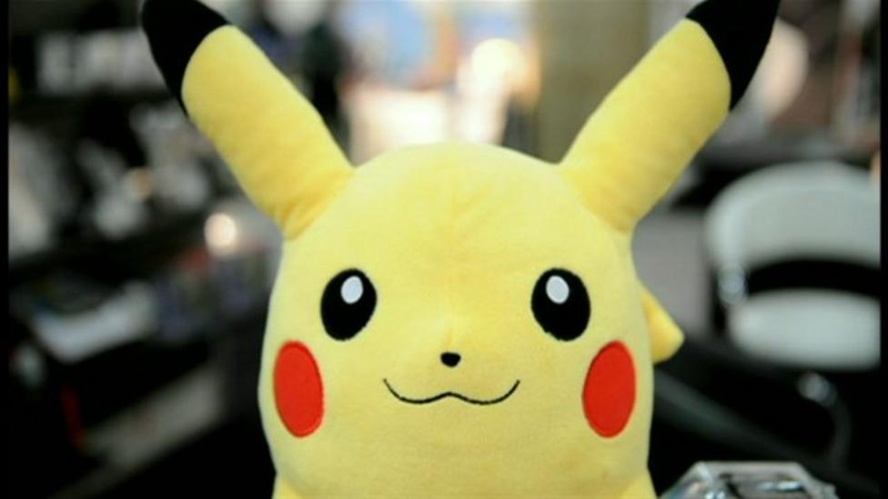 Pokemon programmer talks to Newsround