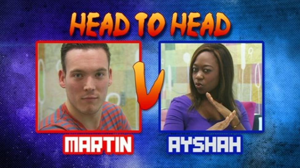 New NR presenter Ayshah takes on Martin!