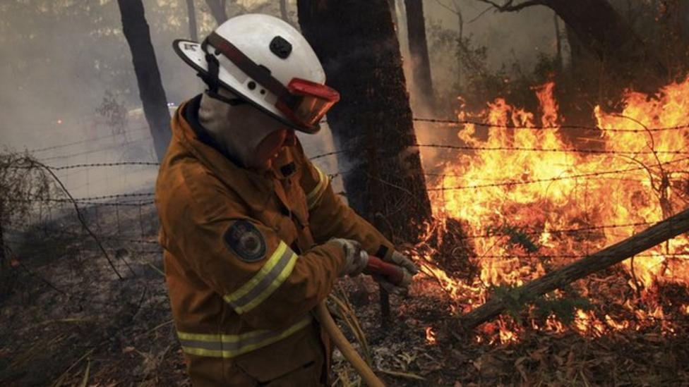 What life is like near bush fires