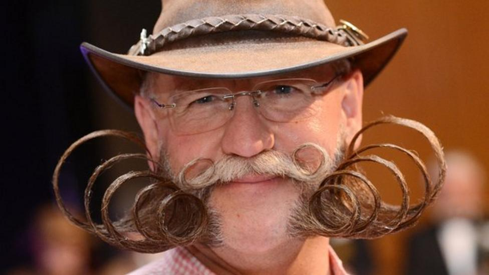 Fancy beards win awards in Germany