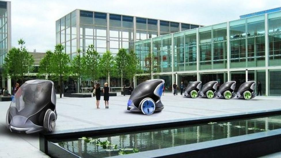 Driverless 'pod' cars coming to UK