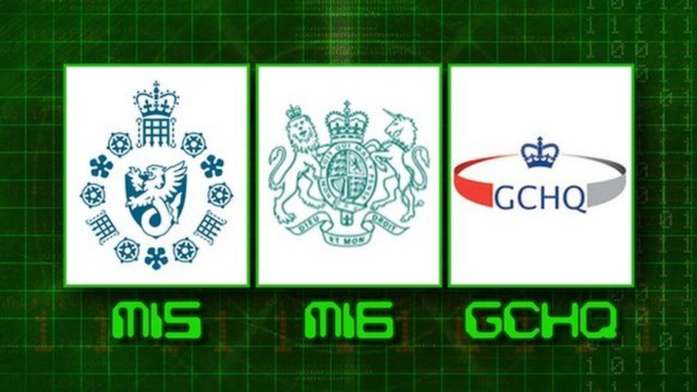 What do the UK's spy agencies do?