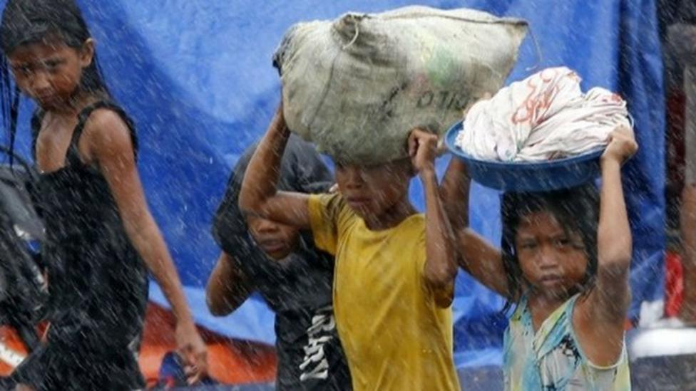 BBC correspondent reports from Tacloban