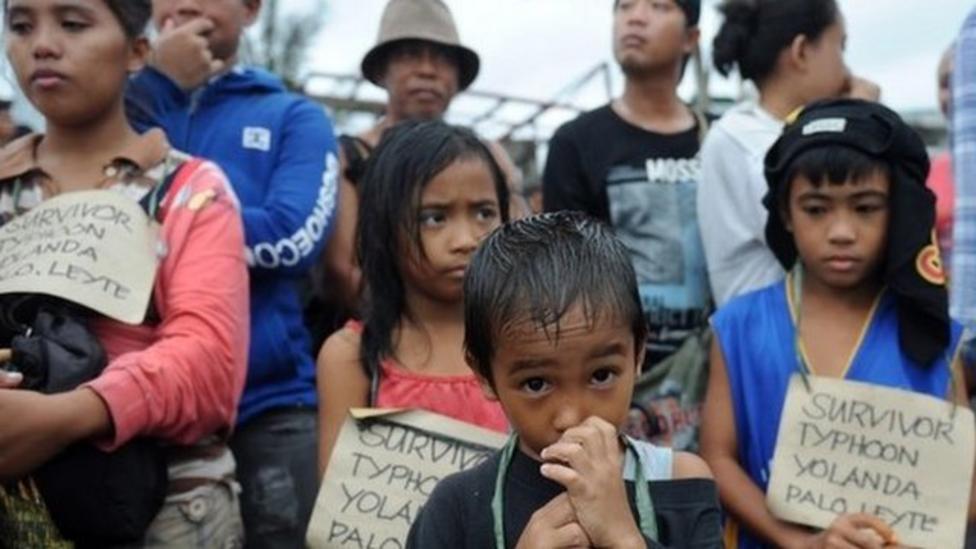Aftermath of Typhoon Haiyan