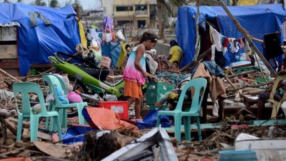 Ayshah reports on what is happening in the Philippines
