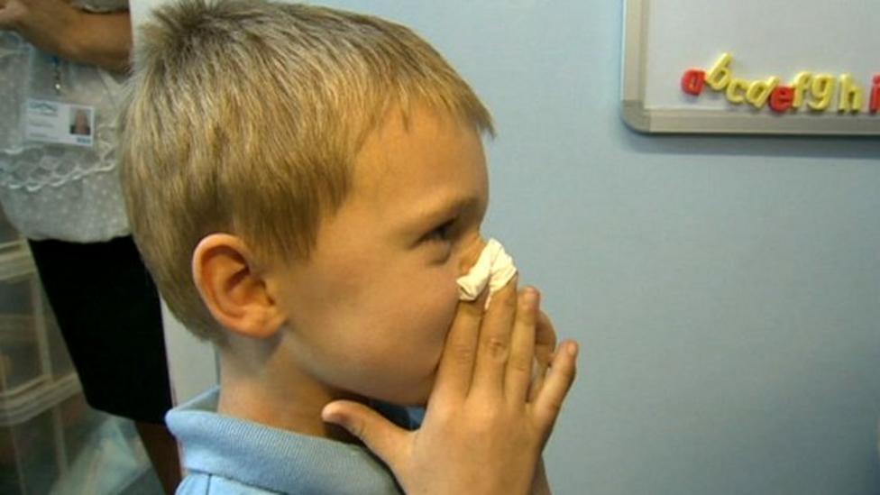 Schools taking part in flu survey