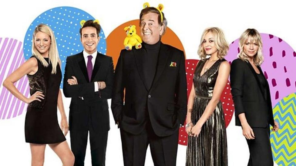 What's on Children in Need tonight?