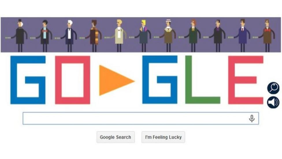 Making Google's Doctor Who doodle