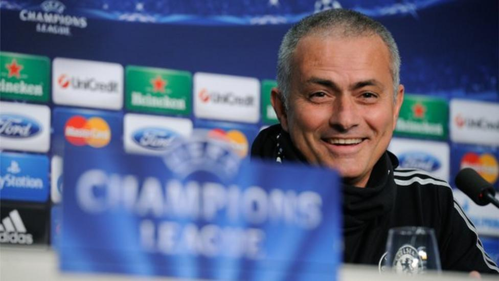 Jose Mourinho Chelsea Manager Jokes About New Haircut Bbc Sport