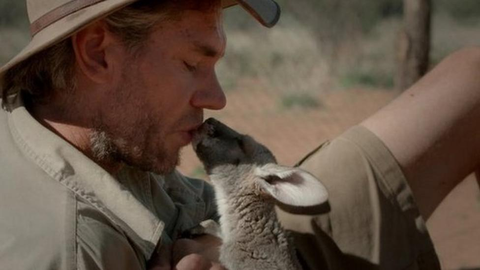 Man who rescues kangaroo orphans