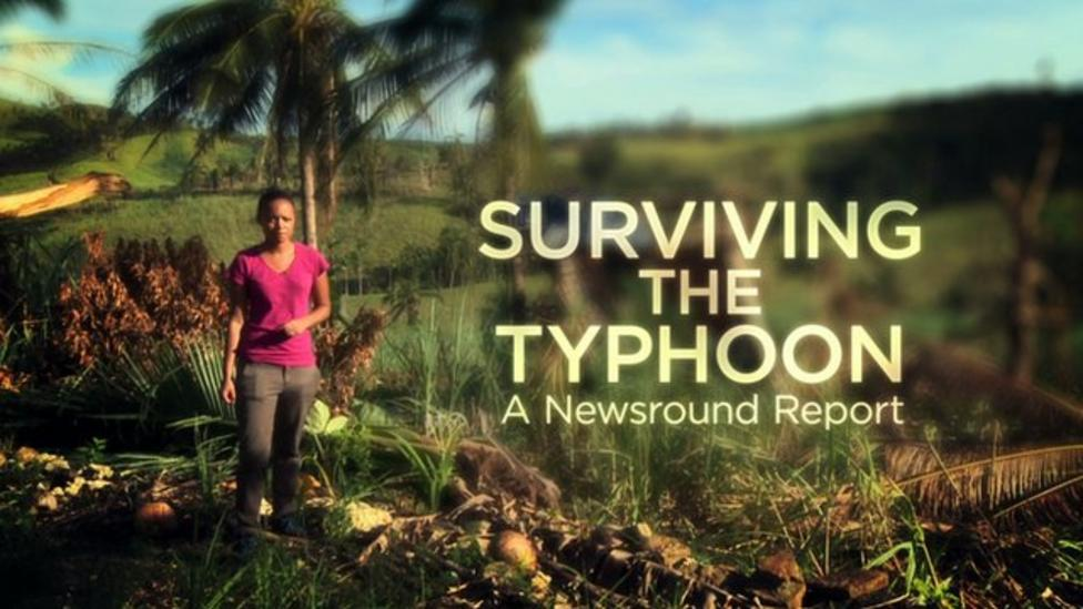 Surviving the Typhoon - a Newsround Report