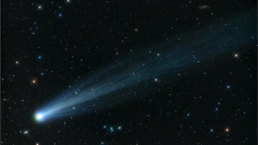 Comet Ison survived brush with Sun