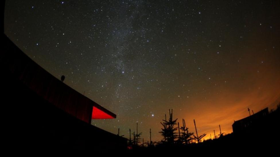Northumberland becomes dark sky park