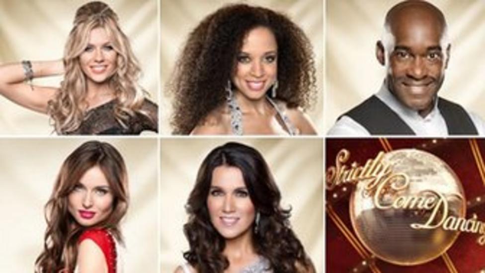 Strictly semi finalists 2013