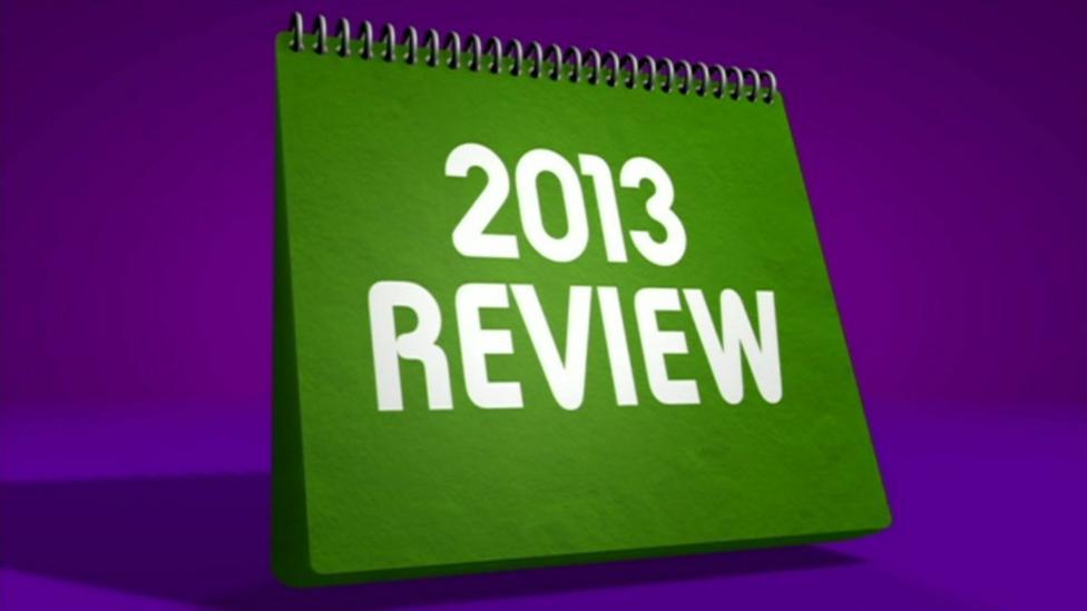 Newsround's news review 2013