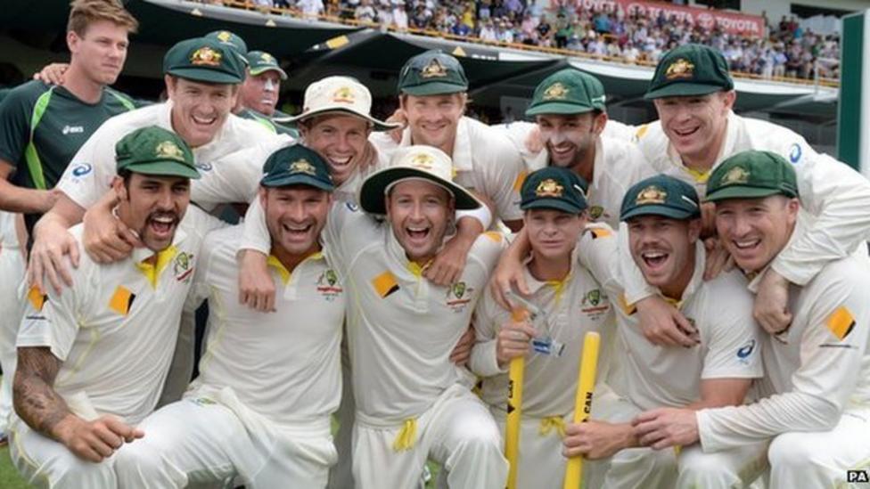 Australia beat England to win Ashes