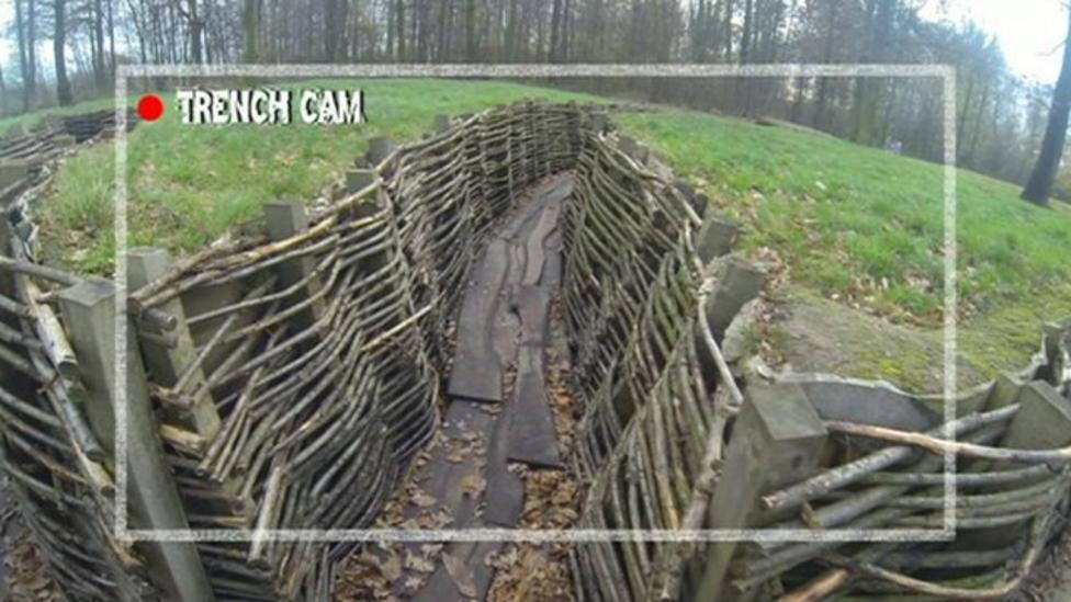 A tour of the trenches in Ypres
