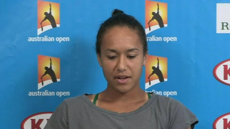 Heather Watson knocked out of Open
