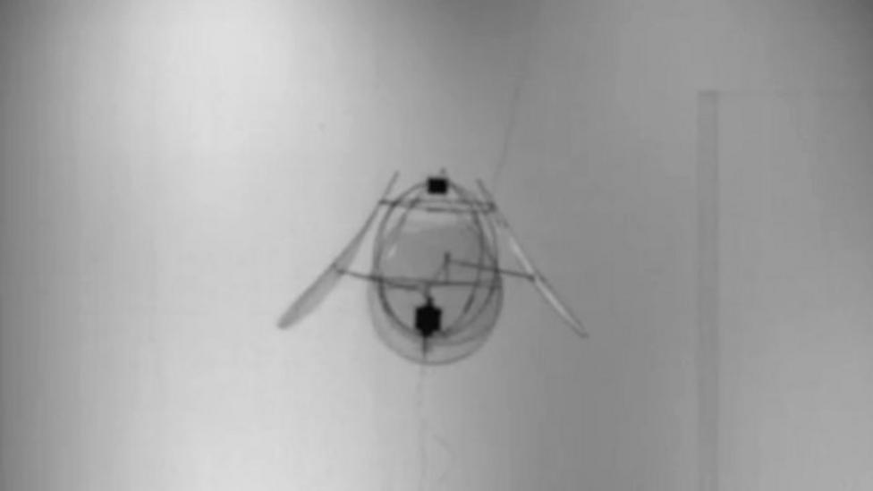 The drone inspired by a jellyfish