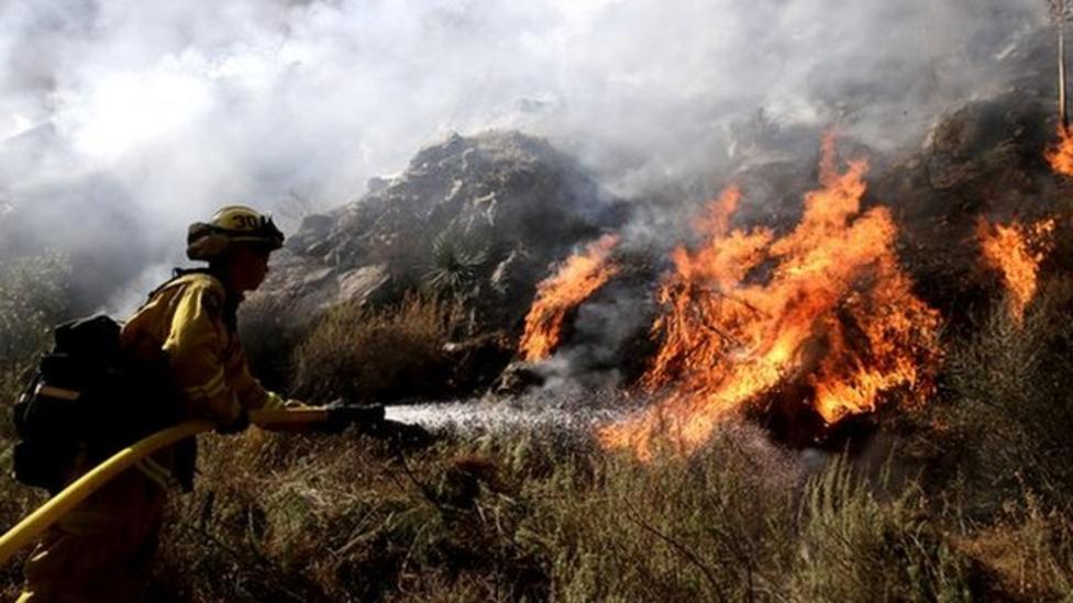 Drought follows California wildfires