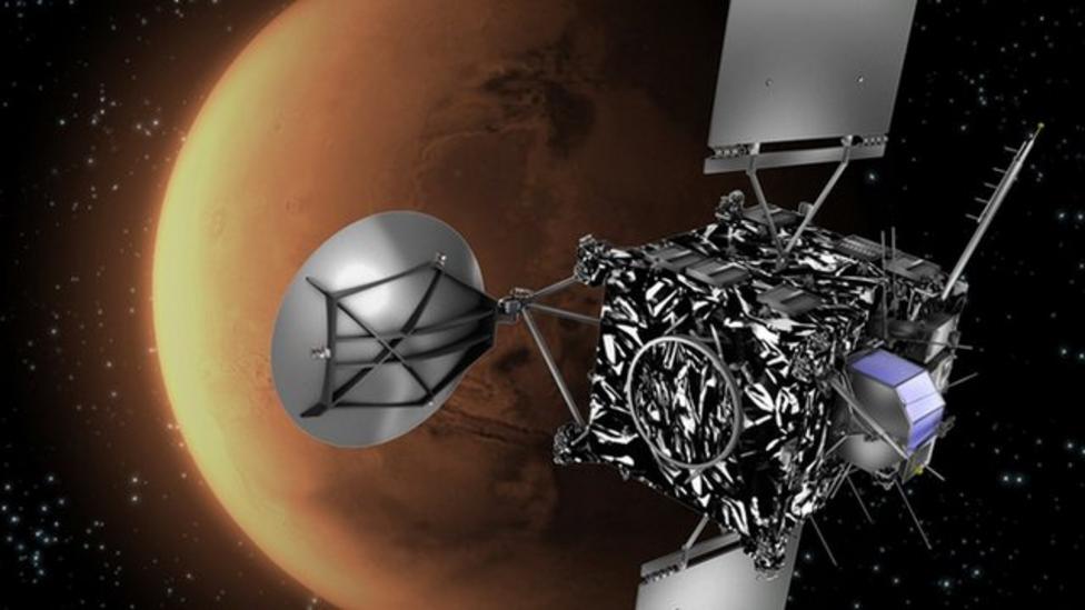 Sleeping space probe to wake up