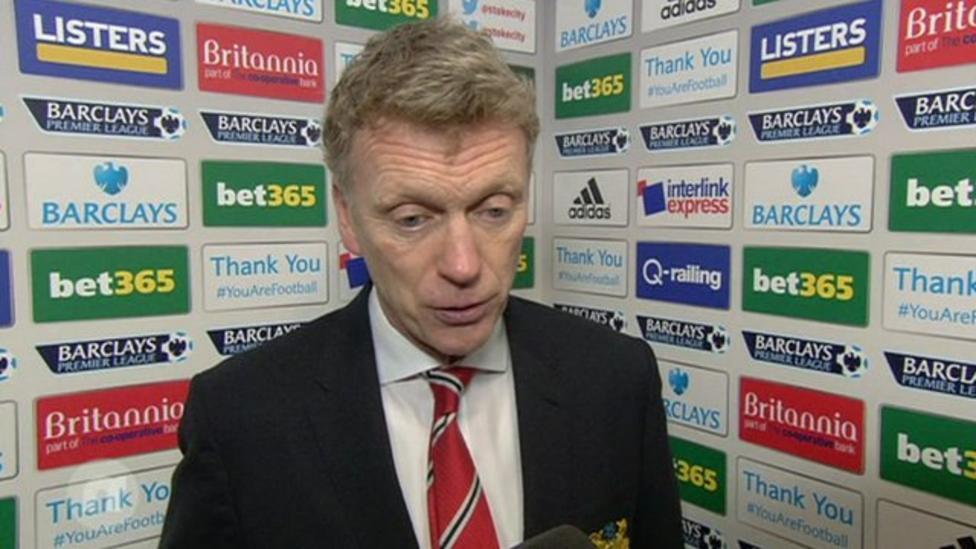 Shock win for Stoke against Man Utd