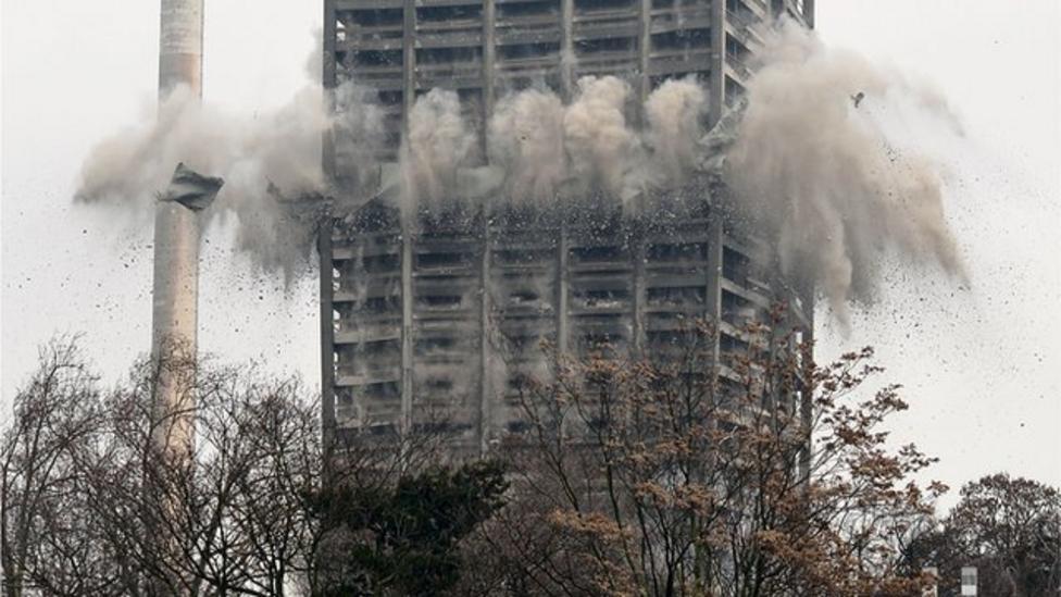 Amazing building demolitions
