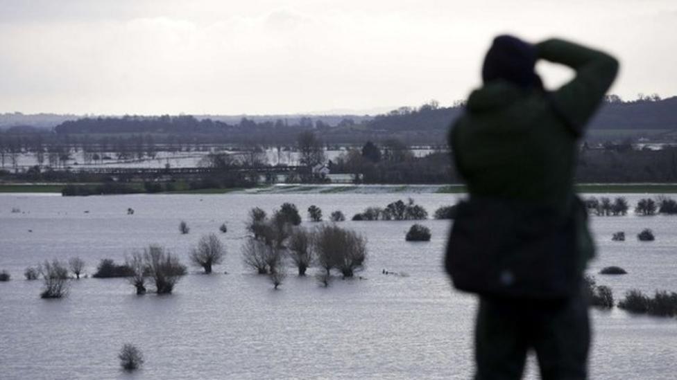 Sixteen flood warnings for England