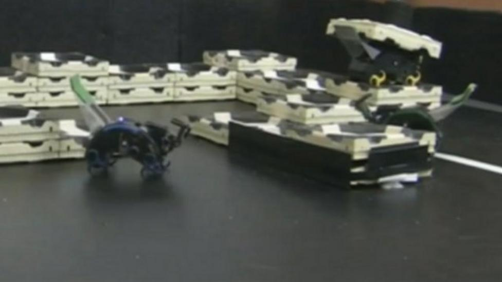 The robots inspired by termites