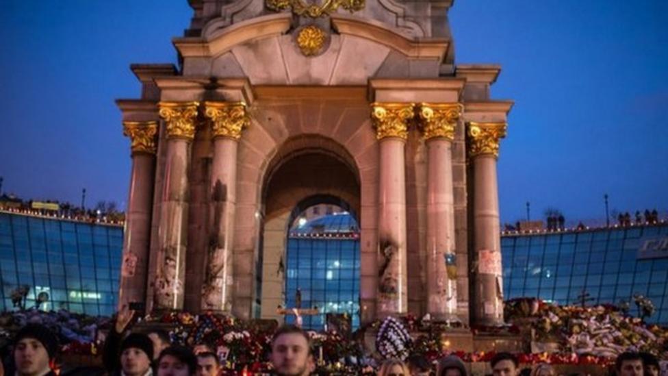 Stand-in president for Ukraine