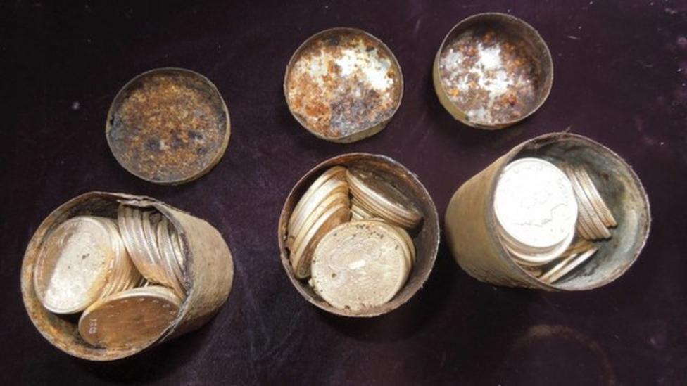 Couple find £6 million treasure in US