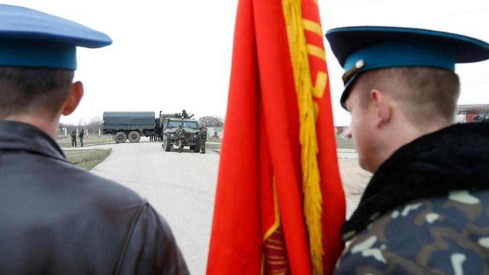 Why are Russian troops in Crimea?