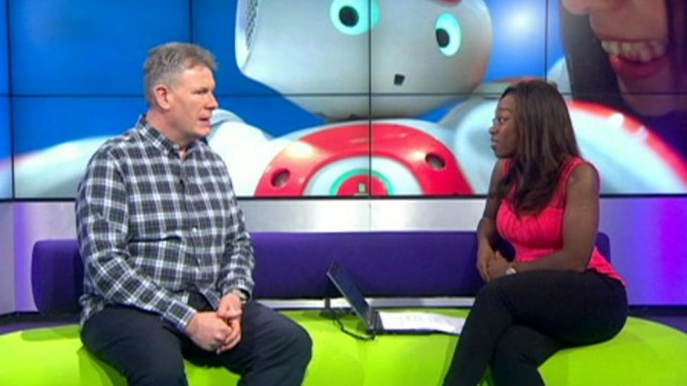 Newsround chats with robot expert