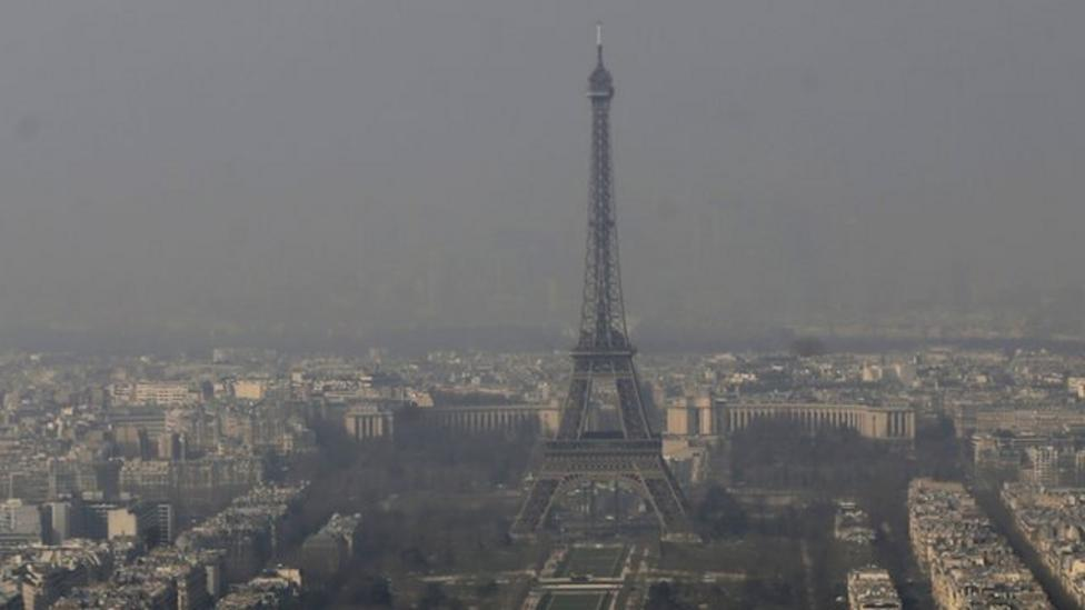 Half of all cars banned in Paris