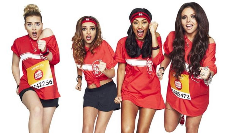 Little Mix in Africa for Sport Relief