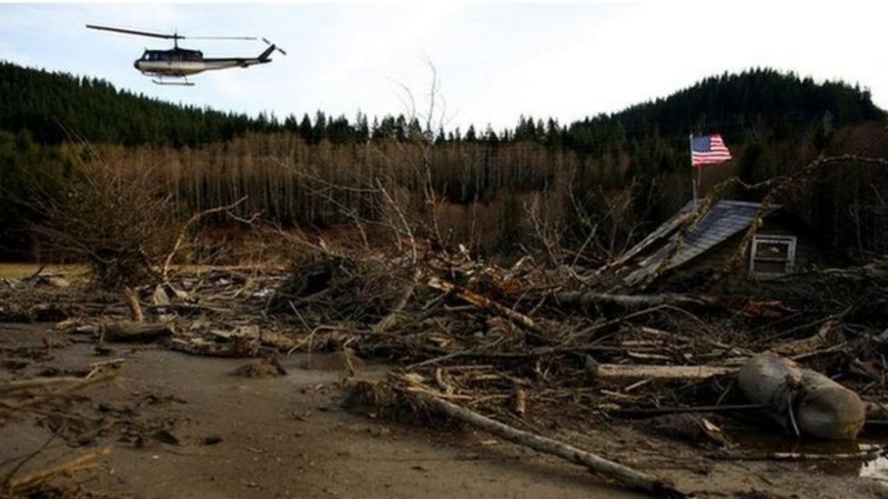 Obama declares US mudslide emergency