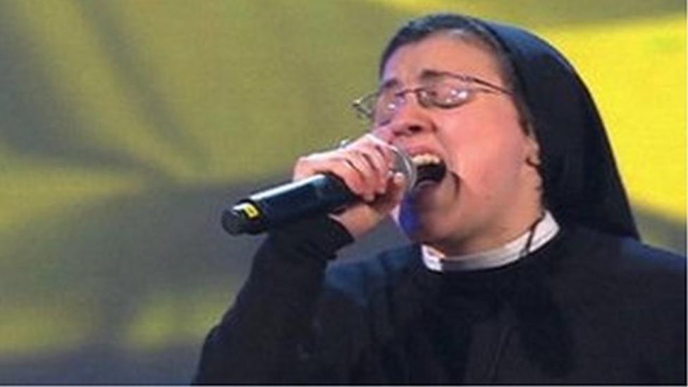Singing Italian nun video goes viral