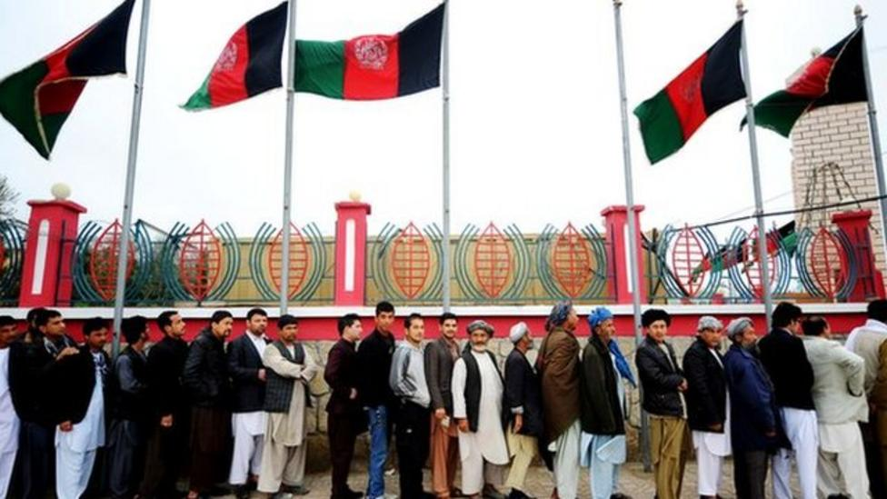 Afghanistan's historic election day