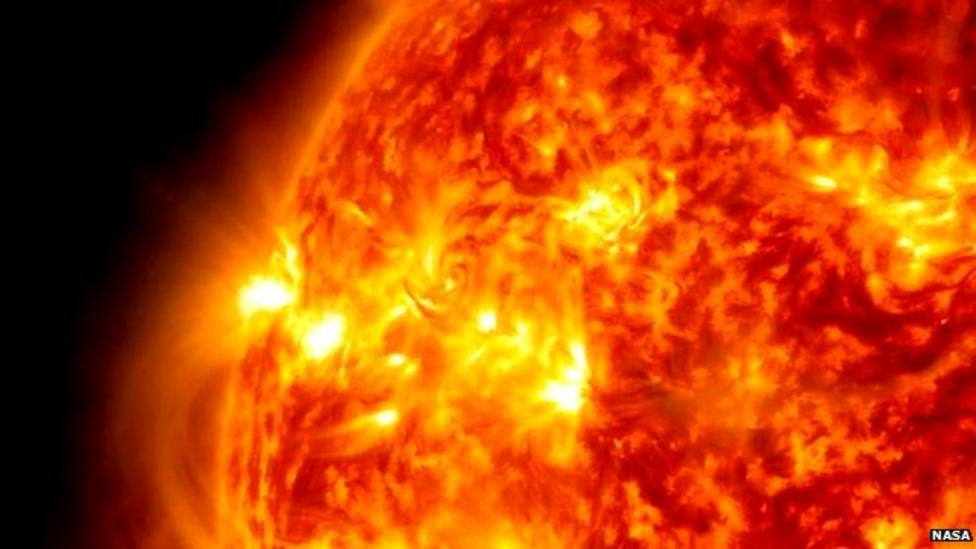 Watch: Amazing solar flare video from Nasa